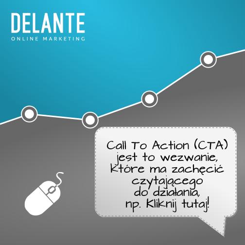 Zawsze na profilu firmowym na Facebooku staraj się stosować Call to Action!