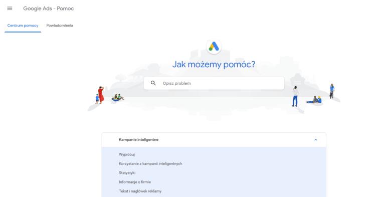 Korzyści Google Adwords centrum pomocy