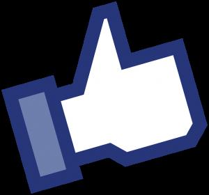 Przycisk Lubię To - Social Media, Delante
