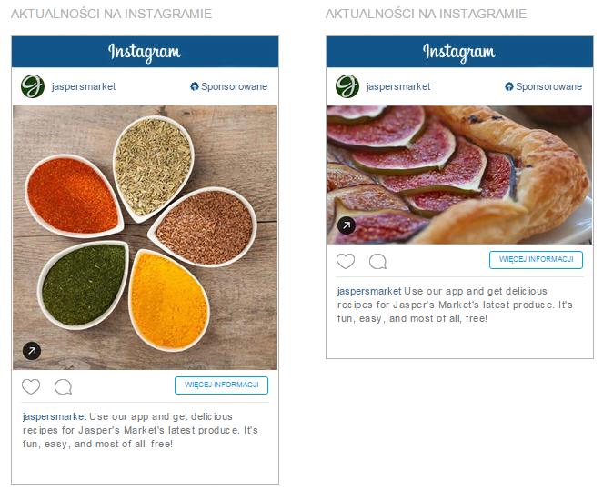 Reklamy na Instagramie