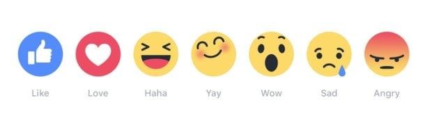 Nowe ikonki na Facebooku