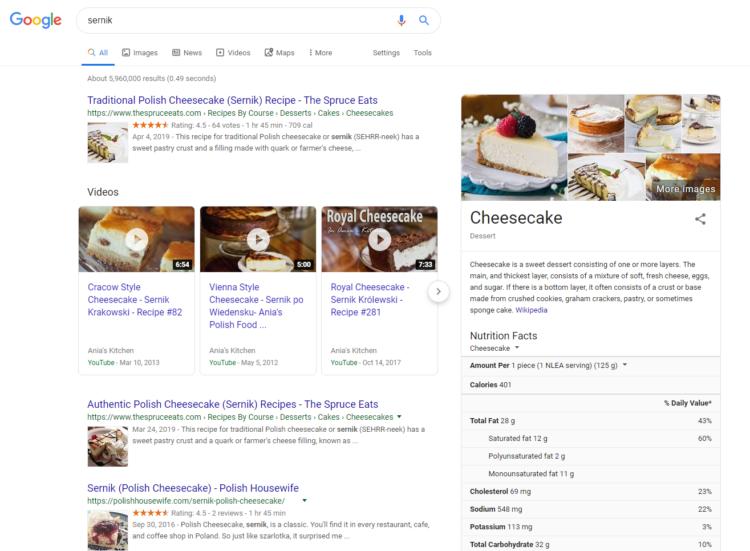 Pozycjonowanie zagraniczne - wersje językowe wyszukiwarki