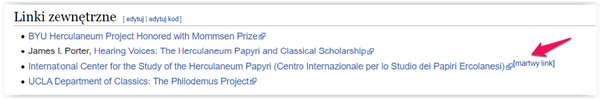 linkowanie zewnętrzne wikipedia