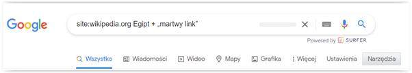 pozyskiwanie linków wikipedia
