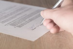 Pozycjonowanie - podpisanie umowy