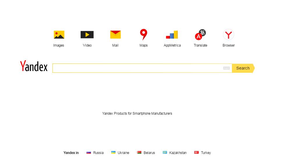 pozycjonowanie po rosyjsku wyszukiwarka Yandex