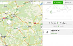 pozycjonowanie w czechach - seznam mapy
