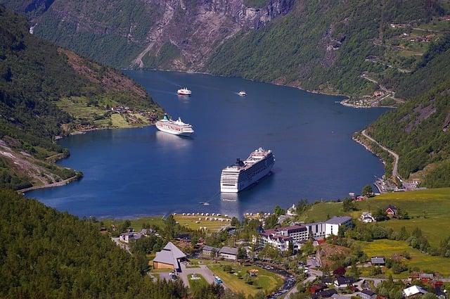 pozycjonowanie w Norwegii - zależności geograficzne
