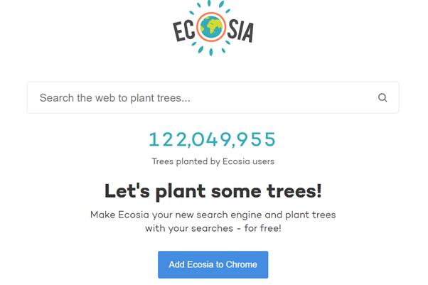 wyszukiwarka ecosia a pozycjonowanie stron w szwajcarii