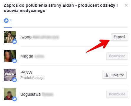 Jak zaprosić do polubienia fanpage ukrytym przyciskiem? Jak zdobyć lajki na Facebooku?
