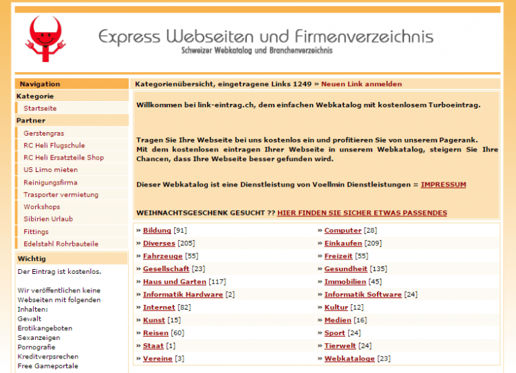 SEO in Switzerland - bookmarking