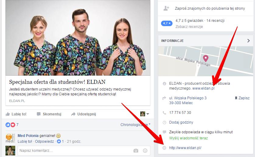 Pozycjonowanie Facebook i jego możliwości. Jak linkować z fanpage'a?