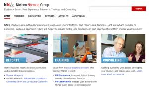 Nielsen Norman Group - pozycjonowanie a UX