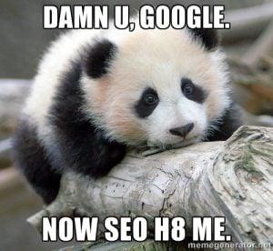 Zmiany algorytmów Google - Panda