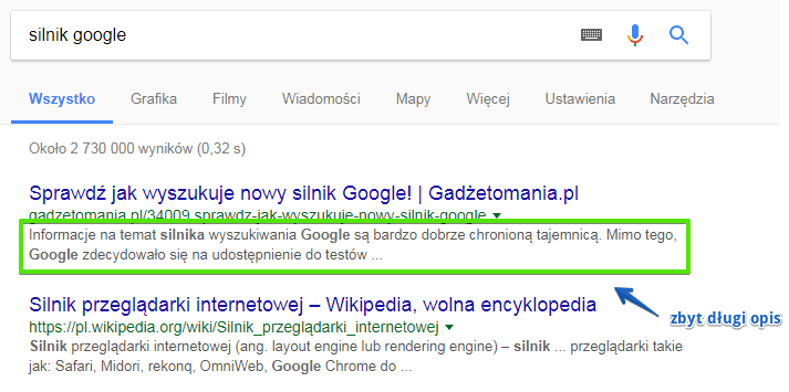 Meta title i description - Błędy w sklepie internetowym