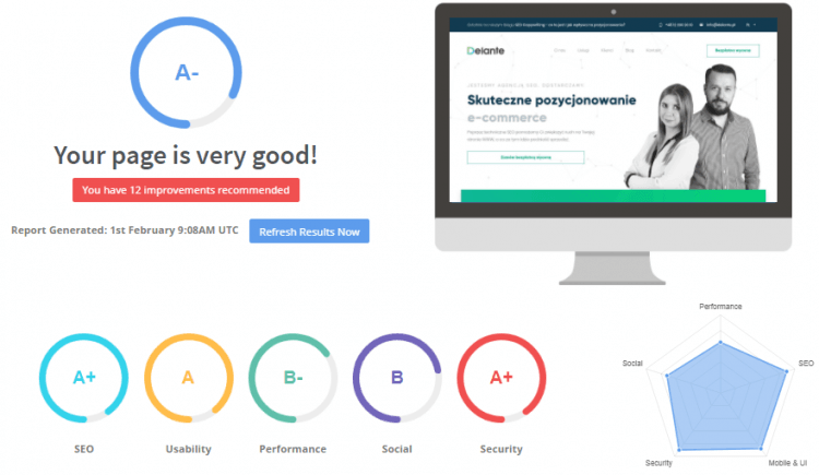 Seoptimier - another of SEO Audit Tools