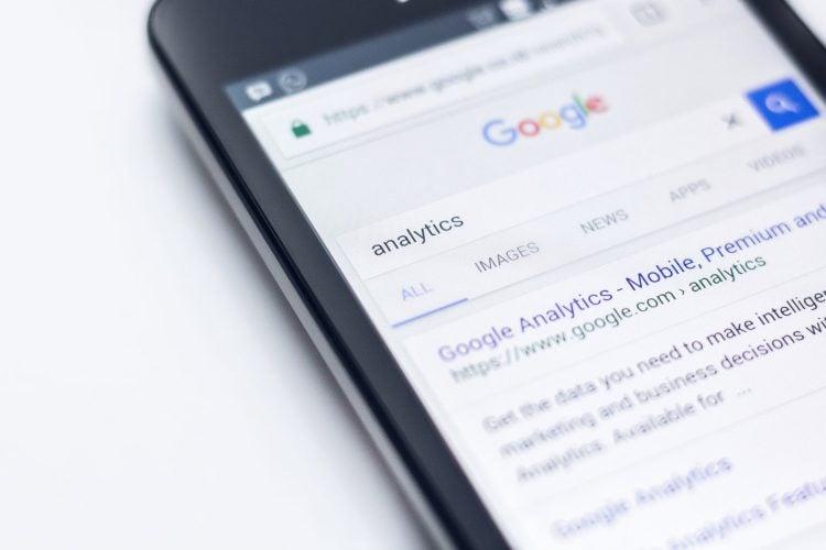 Analiza strony w Google Analytics