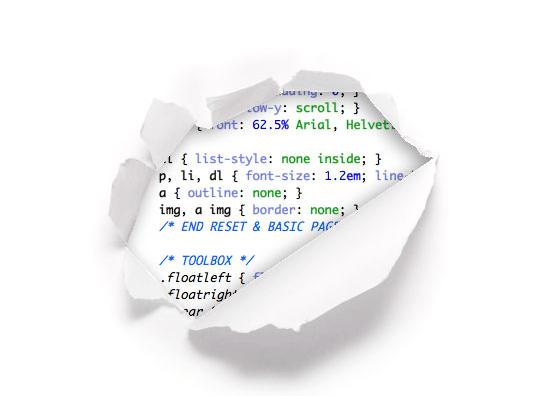 Komunikat o błędzie 404 CSS