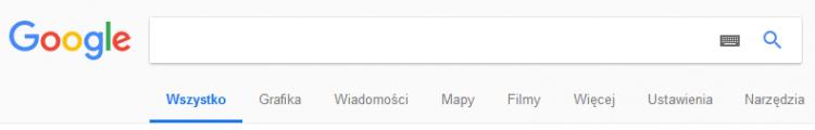 Wyszukiwanie plików i obrazów w Google