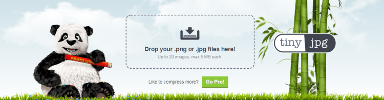The tinyjpg - graphics optimization tool.