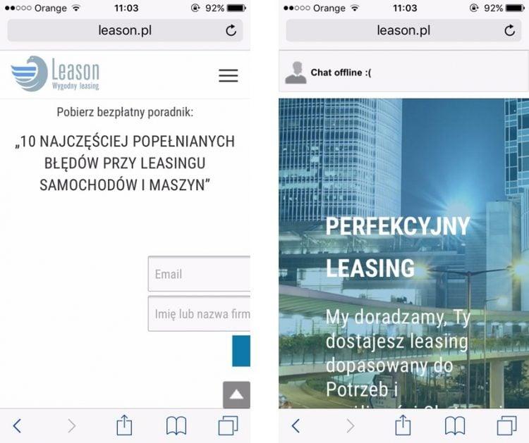 Leason urządzenia mobilne