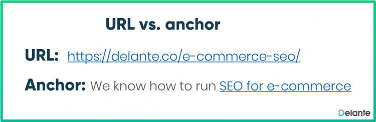 URL vs anchor