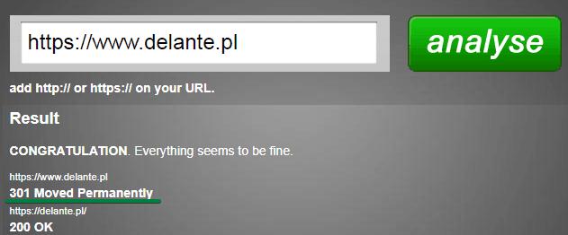 Struktura URL a przekierowania
