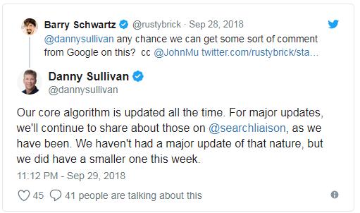 Danny Sullivan potwierdza urodzinową aktualizację