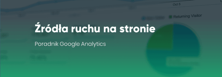 Źródła ruchu na stronie. Poradnik Google Analytics