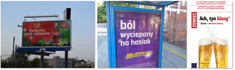 Reklamy po śląsku