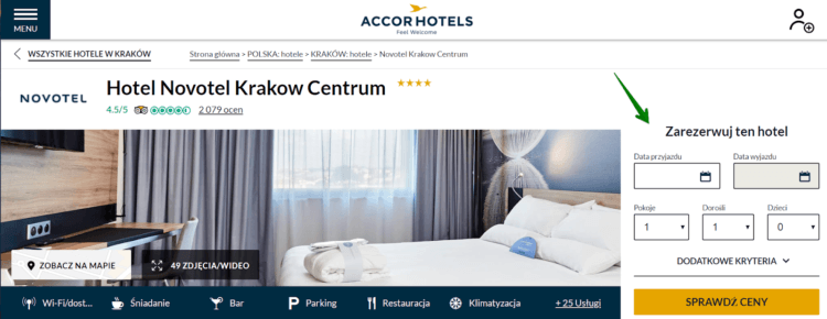 UX w hotelu