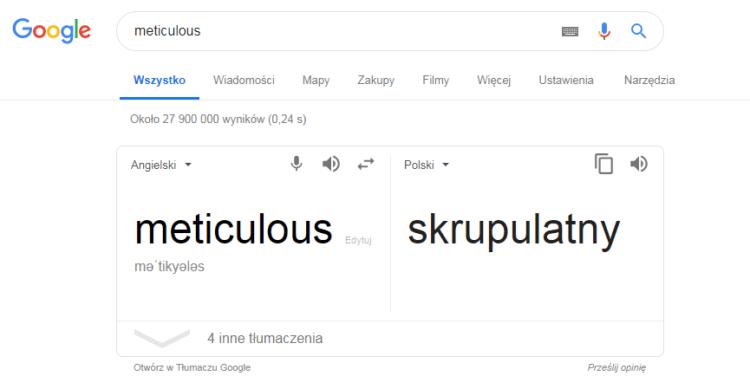 Słownik Google