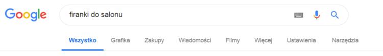 wpisywanie frazy w google