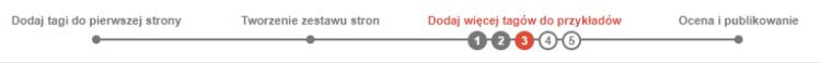 Marker danych Google - zestaw stron