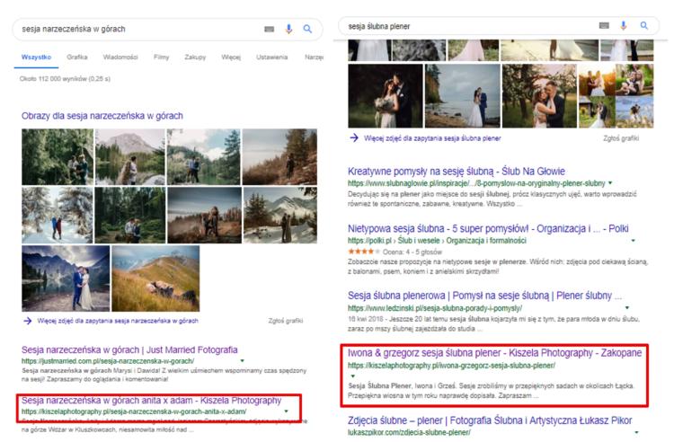 Wyniki wyszukiwania branża fotograficzna