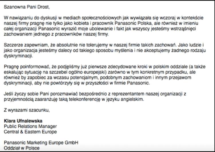 Wpadka Employer Branding - Panasonic