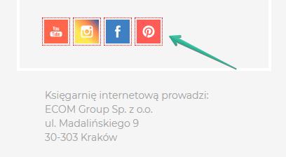 Social media w księgarni internetowej - linkowanie