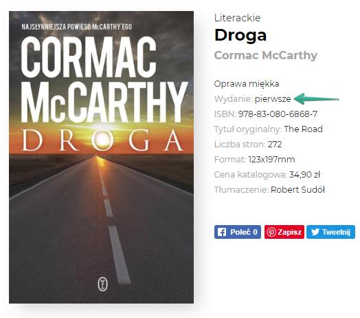 Wersja książki w księgarni internetowej