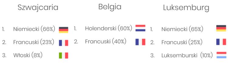 Kraje wielojęzyczne w SEO za granicą