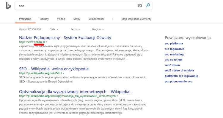 Wyszukiwarki podobne do google