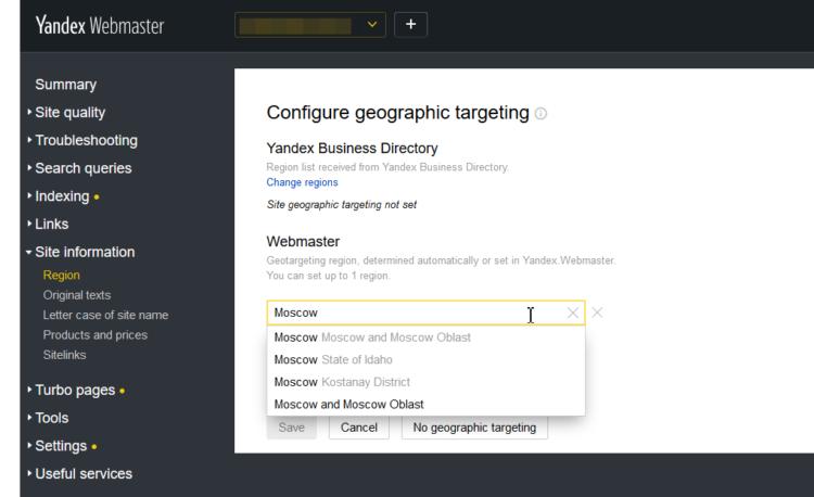 Pozycjonowanie w Yandex - alternatywa dla Google