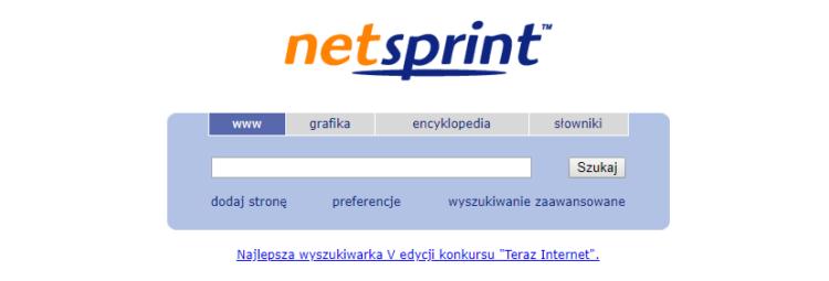 Alternatywa dla Google, czyli Netspring - polska wyszukiwarka