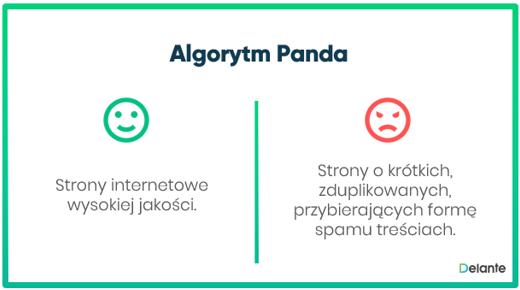 Algorytm panda definicja