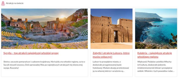 Blog w turystyce