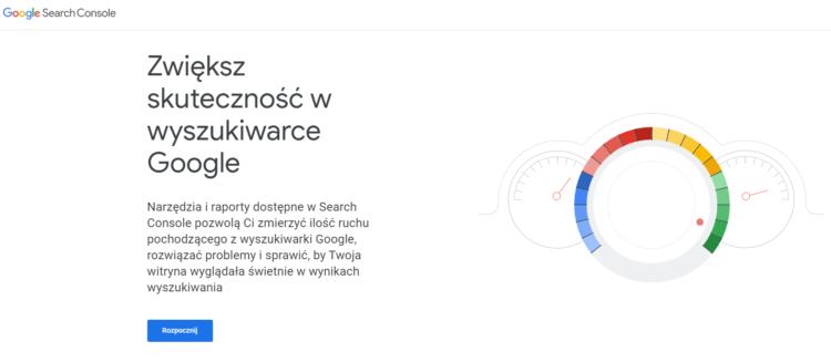 Google Search Console definicja