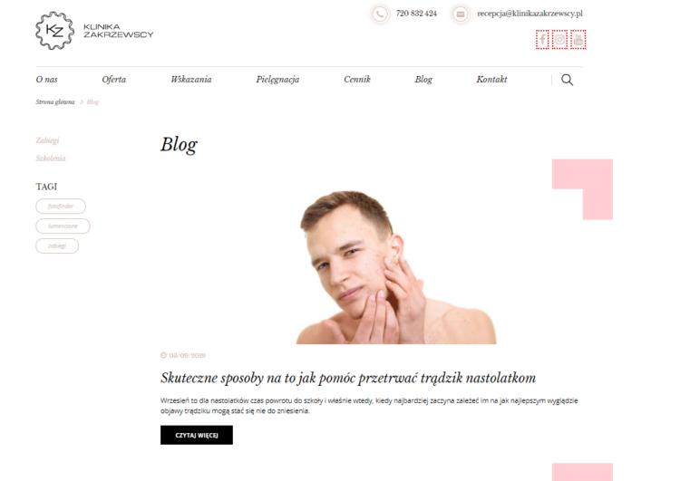 Blog - branża beauty