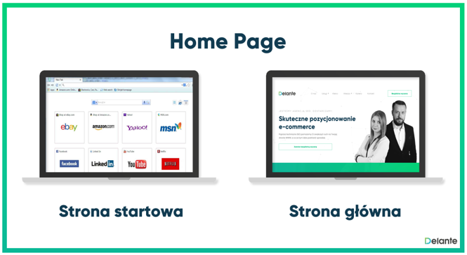 Home Page definicja