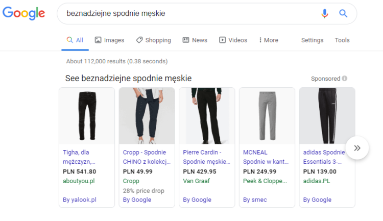 Wrong search results