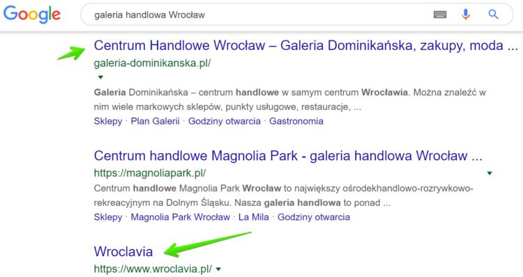 Triki wyszukiwania w Google - wykluczona fraza w wyszukiwaniach