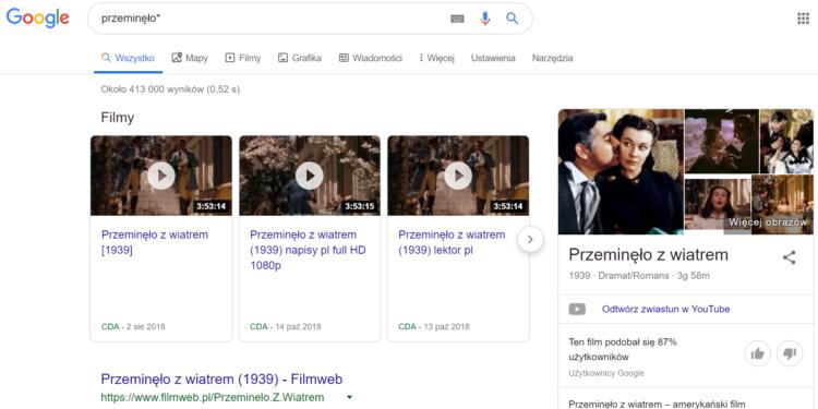 Tricki Google - zapomniane słowo w wyszukiwaniach
